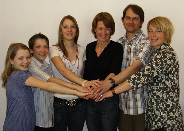 Das Team des Geschenks ABC