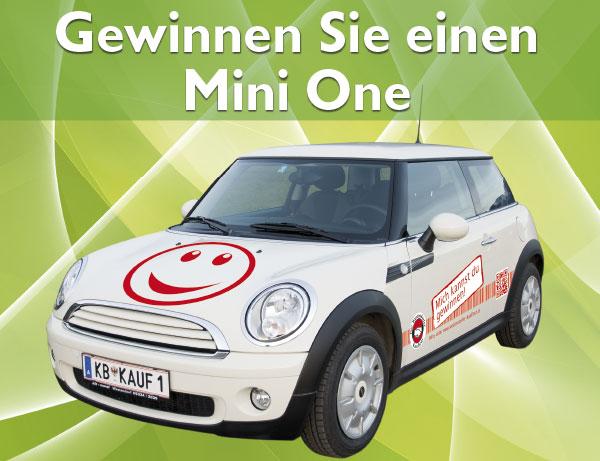 Mini One Gewinnspiel der Westendorfer Kaufleut