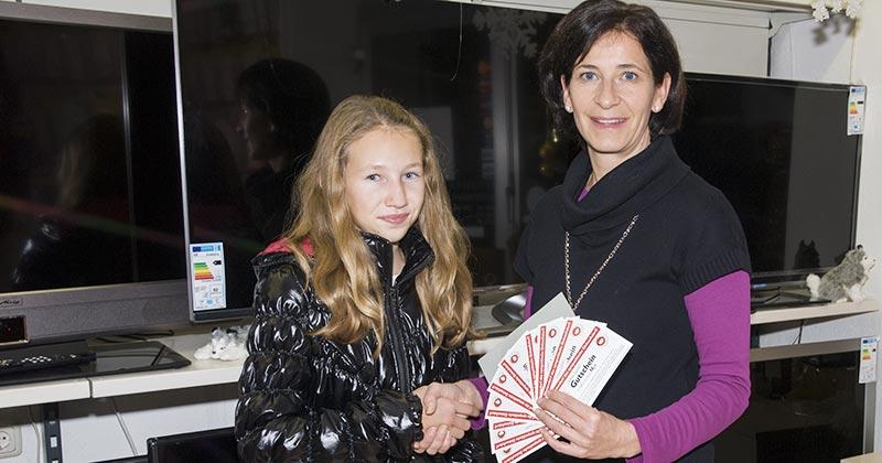 """""""Schau zuichi Tag"""" Gewinnerin Dezember 2013"""