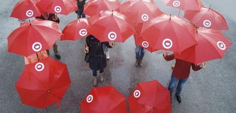 Wir lassen unsere Kunden nicht im Regen stehen!