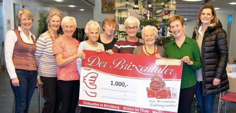 Sozialprojekt Brixentaler für Brixentaler